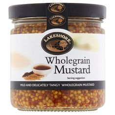 Lakeshore Plain Wholegrain Mustard 205g
