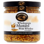 Lakeshore Wholegrain Mustard with Whiskey - 205g - Sold Out