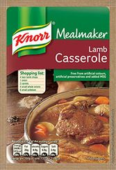 Knorr Lamb Casserole - 47g - BB August 2021 - Low Stock