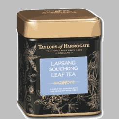 Taylors of Harrogate Lapsang Souchong Leaf Tea Tin -125g - 3 In Stock