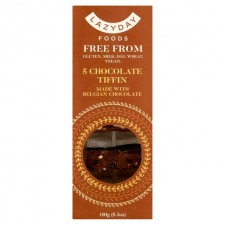 GF Lazy Day Chocolate Tiffin Millionaire's Shortbread - 150g - 3 In Stock