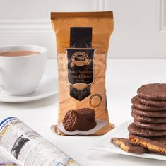 Ringtons Dark Chocolate Coated Ginger Biscuits - 200g