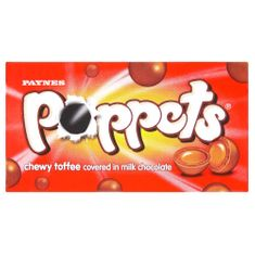 Poppets Chewy Toffee - 39g