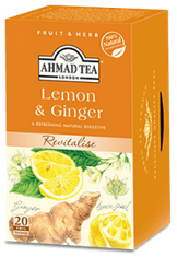 Ahmad Lemon and Ginger - 20ct Bags - Sold Out