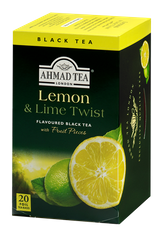 Ahmad Lemon and Lime Twist - 20ct Bags - 4 In Stock