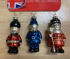 London Iconic Baubles - 3pk - Sold Out