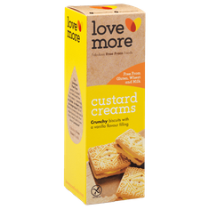 Lovemore Custard Creams - 125g GF - Sold Out