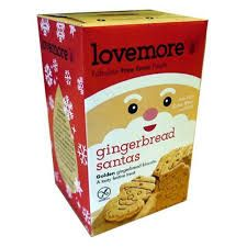 Lovemore Gingerbread Santas GF - 195g - Sold Out