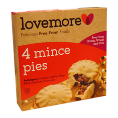Lovemore Mince Pies (Wheat & Gluten Free) - 280g - Sold Out