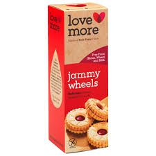 Lovemore Jammy Wheels - 120g GF - Sold Out