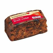 Lovemore Port & Brandy Fruit Cake - 420g - Free from wheat and gluten - Sold out