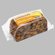 Lovemore Rich Genoa Cake - 420g - Free from Gluten & Wheat - Sold Out