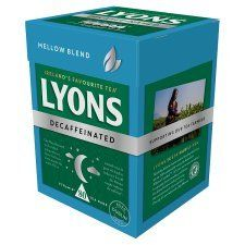 Lyons Decaffeinated - 80ct Bags