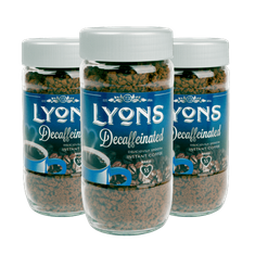 Lyons Decaffeinated Instant Coffee - 100g