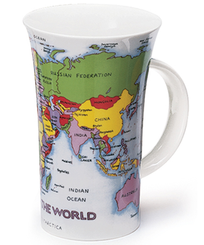 Dunoon Map Of The World - Glencoe - Sold Out