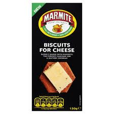 Marmite Biscuits for Cheese - 150g