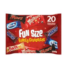 Mars Family Favourites Funsize Collection - 358g - Sold Out