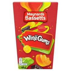Maynards Bassetts Wine Gums Carton - 400g
