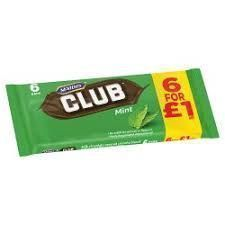 McVitie's Club Mint - 6pk - 132g - Sold Out