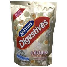 McVitie's Digestives Nibbles White Chocolate - 120g - Sold Out