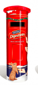 McVitie's Milk Chocolate Digestives Post Box Tin - 400g - Sold Out