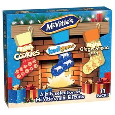 McVitie's Minis Fireside Christmas Biscuit Carton - 275g - Sold Out