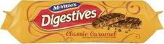 McVitie's Milk Chocolate Caramel Digestives - 267g - Sold Out