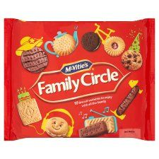 McVities Family Circle Pack - 310g - Sold Out 2020