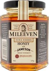 Mileevem Honey with Jameson- 225g