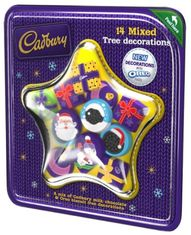 Dairy Milk Chocolate Mixed Tree Decorations - 136g - Sold Out
