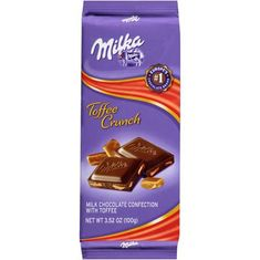Milka - Toffee Crunch 100g - Sold Out