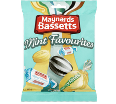 Maynards Bassetts Mint Favourites - 192g - Sold out