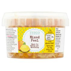 Tesco Italian Mixed Peel - 200g - Sold Out