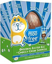 Moo Free Organic Easter Egg + Choccy Chum Surprise - 120g -Sold Out  2020