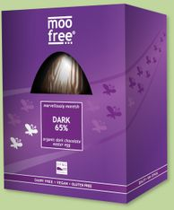 Moo Free Marvellously Moreish Dark 65% Egg - 160g - Sold Out 2020