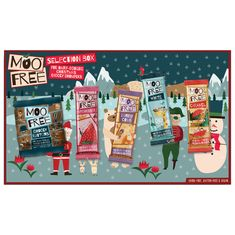 Moo Free Selection Box - 135g - Sold Out 2020