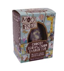 Moo Free Organic Choccy Eggsplosion Easter Egg - 80g - Sold Out 2021