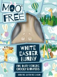 Moo Free Organic White Easter Bunny - 80g - Sold Out 2021