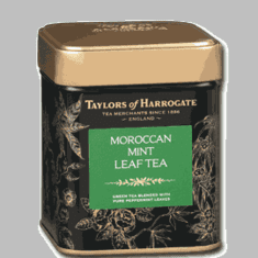 Taylors of Harrogate Moroccan Mint Leaf Tea Tin - 125g