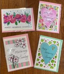 Mothering Sunday Cards 14th of March