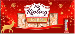 Mr. Kipling 6 Mince Pie Flavour Slices - 192g - Sold Out