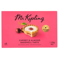 Mr. Kipling Cherry & Almond Bakewell Tarts - 250g - Sold Out