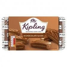 Mr. Kipling Chocolate Slices - 264g - BB March 2021 - Sold Out