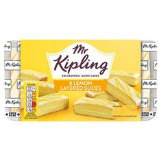Mr. Kipling Lemon Slices - 264g - Sold Out