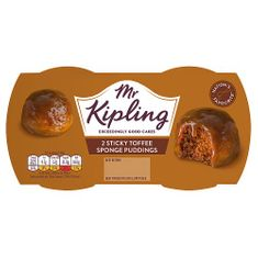 Mr. Kipling Sticky Toffee Sponge Puddings - 190g - Sold Out