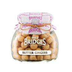 Mrs. Bridges Butter Gingers - 155g - BB November 2020