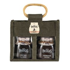 Mrs. Bridges Chutney for Cheese Twin Jute Bag - 600g - Sold Out