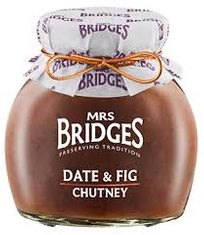 Mrs. Bridges Date & Fig Chutney - 295g - Sold Out