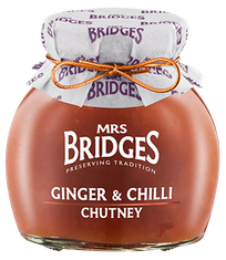 Mrs. Bridges Ginger & Chilli Chutney - 100g - 2 In Stock