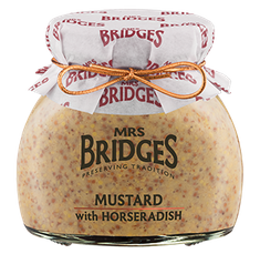 Mrs. Bridges Mustard with Horseradish - 200g - Sold Out